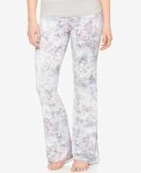 A Pea In The Pod Printed Maternity Pajama Pants Floral Print