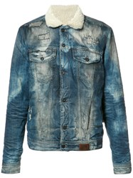 Prps Flap Pockets Denim Jacket Blue
