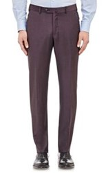 Ermenegildo Zegna Worsted Trofeo Trousers Colorless