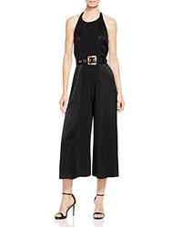 Cynthia Rowley Belted Jumpsuit Black