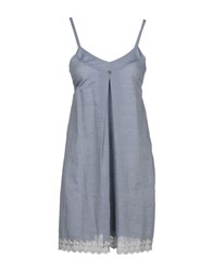 Yes Zee By Essenza Short Dresses Grey