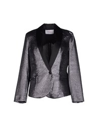 Jucca Suits And Jackets Blazers Women Steel Grey