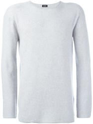 Diesel Crew Neck Jumper Grey