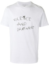 Soulland Silence And Darkness T Shirt White