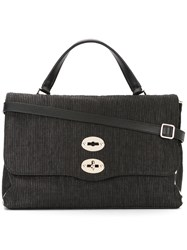 Zanellato Postina Medium Tote Black