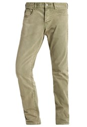 Scotch And Soda Ralston Slim Fit Jeans Military Green Khaki