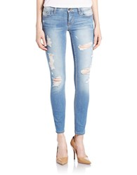Guess Distressed Skinny Jeans Vuila Blue