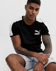 Puma T7 T Shirt In Black