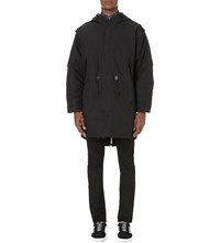 Fred Perry Reissue Fishtail Shell Parka Black