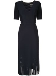 Dion Lee Perf Contour Dress Blue