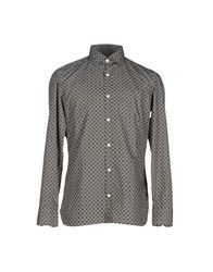 Giampaolo Shirts Shirts Men Military Green