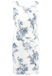 More And More Summer Dress Offwhite Light Blue