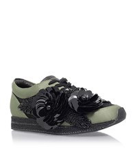 Kurt Geiger London Langham Sneaker Female Green