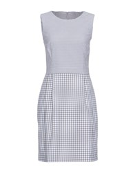 Cappellini By Peserico Short Dresses Grey
