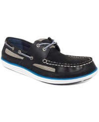 Sperry Top Sider Lightship 2 Eye Boat Shoes Men's Shoes Navy Blue
