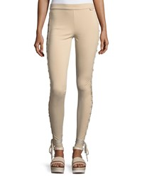 Fenty Puma By Rihanna Boxing And Bomber Lacing Tights Beige