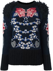 Temperley London 'Wander' Jumper Blue