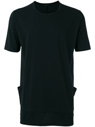 The Viridi Anne Patch Pockets T Shirt Black