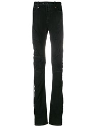 Unravel Project Stretch Skinny Jeans Black