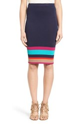 Women's Plenty By Tracy Reese Stripe Knit Body Con Skirt