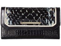 Brahmin Soft Checkbook Black Handbags