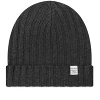 Norse Projects Cashmere Wool Beanie Grey