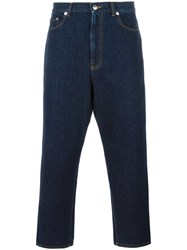 Christopher Kane Drop Crotch Jeans Blue