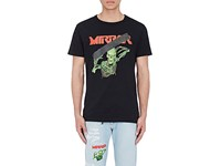Off White C O Virgil Abloh Men's Graphic Cotton T Shirt Black