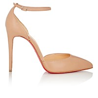 Christian Louboutin Women's Uptown Ankle Strap Pumps Nude