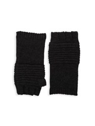 John Varvatos Textured Gloves Grey Black