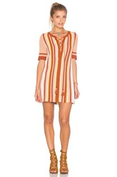 Free People Lollipop Sweater Dress Brown