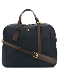 Mismo Contrast Handles Holdall Blue