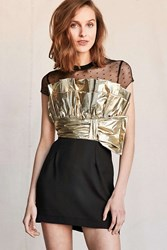 Urban Renewal Vintage Gold Ruffle Dress Assorted