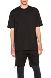 3.1 Phillip Lim Dolman Sleeve Tee In Black