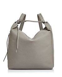Allsaints Kita Backpack Taupe Gray Silver