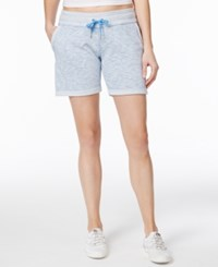 Calvin Klein Performance French Terry Cuffed Shorts Marina