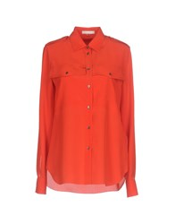 Mantu Shirts Shirts Red