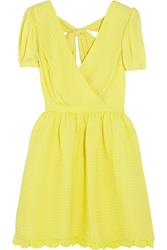 Alice By Temperley Mina Crepe Mini Dress