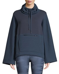 The North Face Terra Metro Funnel Neck Pullover Sweater Navy