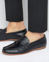 Lambretta Tassel Loafers In Black Black
