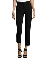 Haute Hippie Skinny Cropped Pants Black