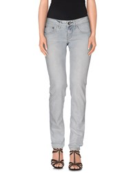Replay Denim Denim Trousers Women Blue