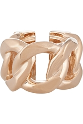 Givenchy Chain Ring In Rose Gold Tone Metal