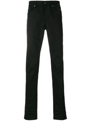 Saint Laurent Classic Slim Fit Jeans Cotton Spandex Elastane Black