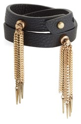 Jenny Bird Women's Luna Warrior Leather Wrap Bracelet
