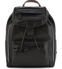 Mcm Kilian Leather Backpack Black