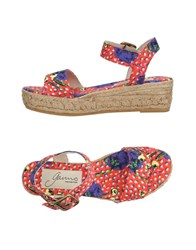 Gaimo Sandals Red