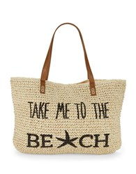 Straw Studios Beach Tote Take Me To