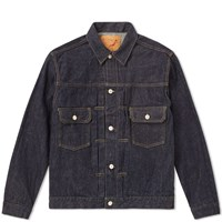 Orslow Selvedge Denim Jacket Blue