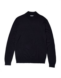 Selected Tower Turtle Neck Jumper Blue